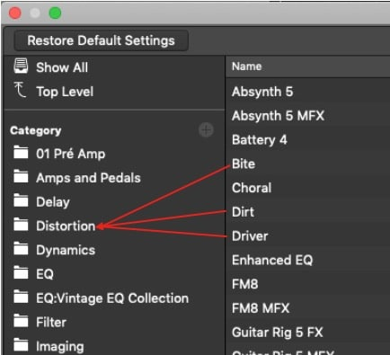 Save time by dragging the plug-ins
